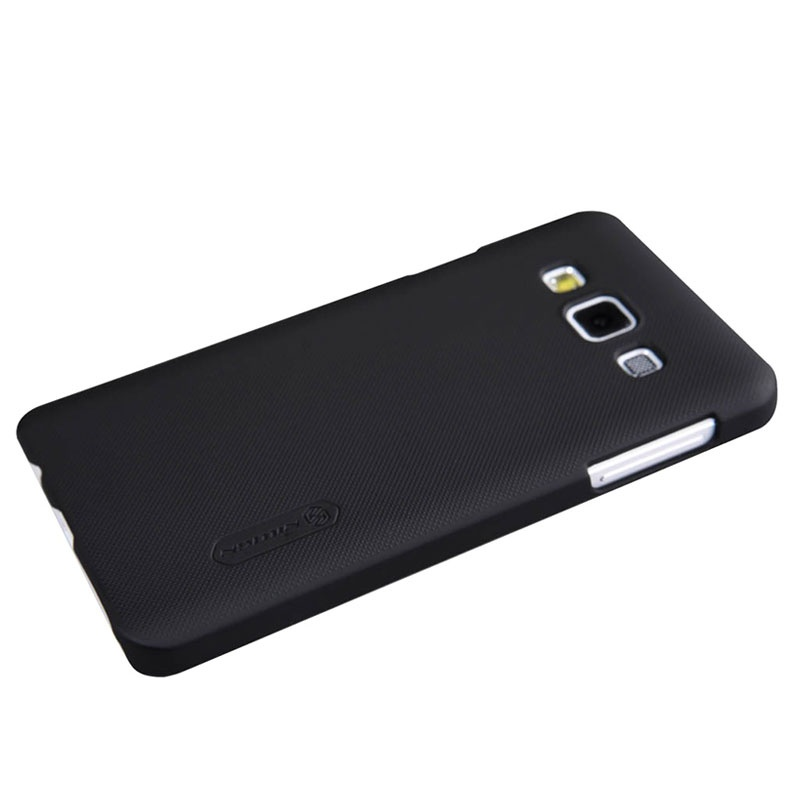 coque nillkin super frosted shield pour samsung galaxy a3 2015 noire. Black Bedroom Furniture Sets. Home Design Ideas