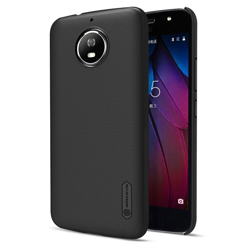 coque nillkin super frosted shield pour motorola moto g5s noire. Black Bedroom Furniture Sets. Home Design Ideas