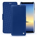 Samsung Galaxy Note8 Noreve Tradition D Folio Case - Bleu