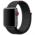 Bracelet Apple Watch Series 5/4/3/2/1 Nylon - 40mm, 38mm - Noir