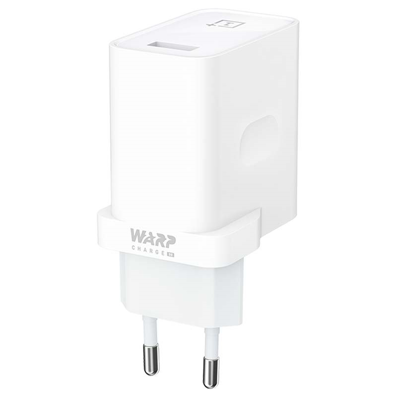 Chargeur Secteur USB OnePlus Warp Charge 30 5461100006 Blanc