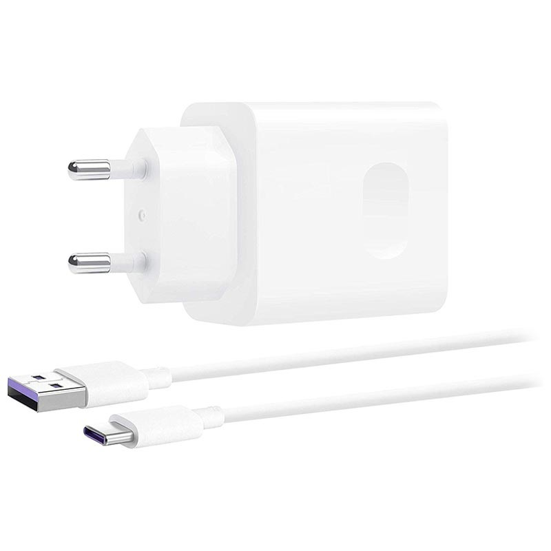 Chargeur Secteur USB C Huawei SuperCharge CP84 40W Blanc