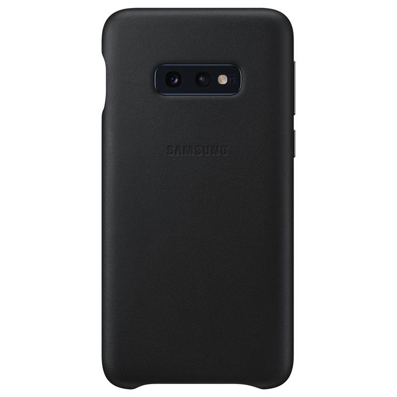 Coque Samsung Galaxy S10e en Cuir EF-VG970LBEGWW - Noir