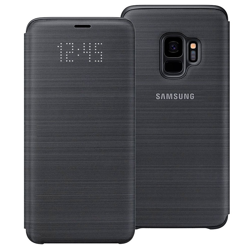 coque samsung s9 led view cover