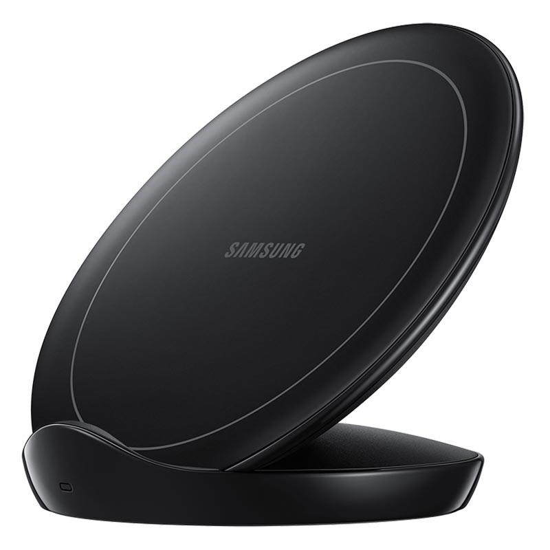 Chargeur sans fil Samsung Noir avec alimentation
