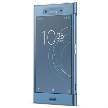 tui style cover touch sctg50 pour sony xperia xz1 bleu. Black Bedroom Furniture Sets. Home Design Ideas