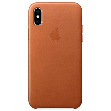 coque iphone x cuir veritable apple