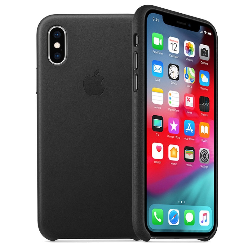coque cuir iphone xs apple