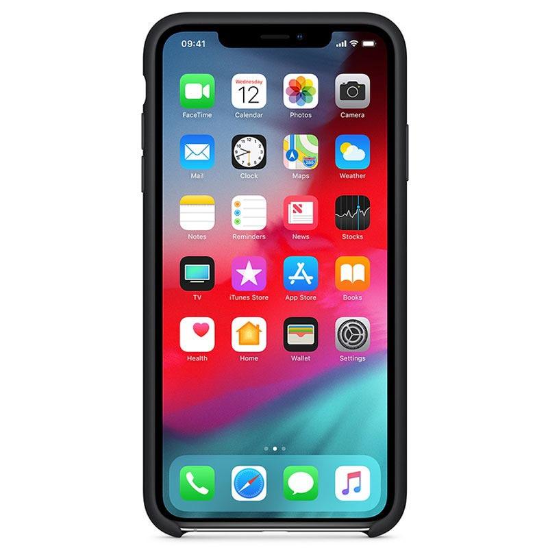 coque iphone xs max en silicone