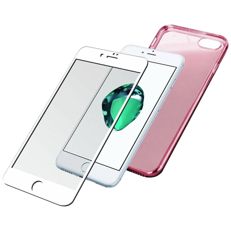 iphone 7 panzerglass premium protection set blanco rose dor. Black Bedroom Furniture Sets. Home Design Ideas