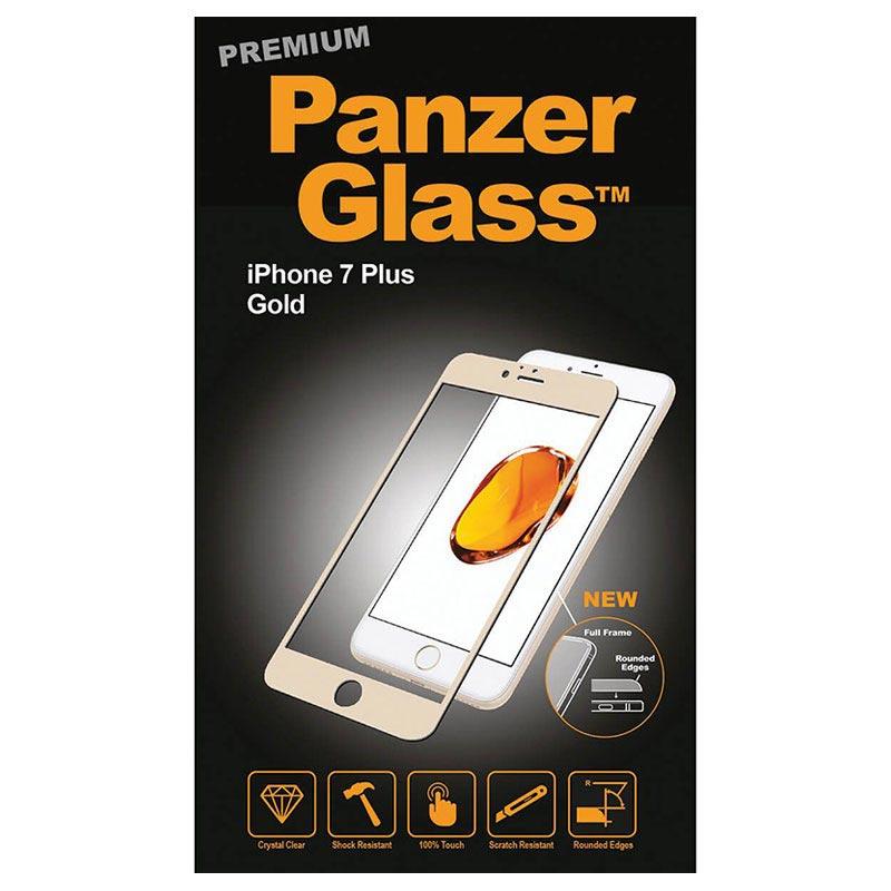 protecteur d cran panzerglass premium pour iphone 7 plus 8 plus dor. Black Bedroom Furniture Sets. Home Design Ideas