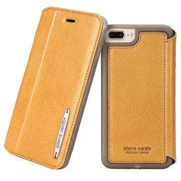coque clapet iphone 8 plus cuir veritable