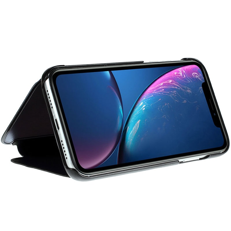 coque rabat transparent iphone xr