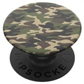Support & Poignée Extensible Popsockets - Woodland Camo