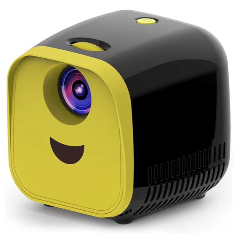 Mini Projecteur Portable Full HD L1 - 1080p - Noir / Jaune
