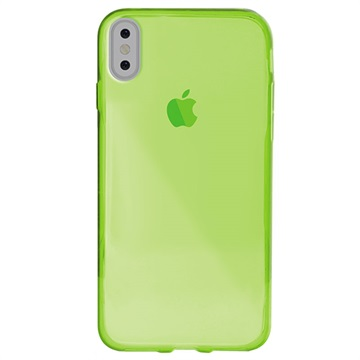 coque iphone x ultra slim vert
