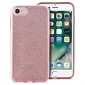 Coque Puro Glitter pour iPhone 6/6S/7/8 - Rose Or