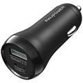 Chargeur Voiture Rapide RAVPower RP-PC091 - USB-C & USB-A - 36W