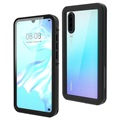 Redpepper IP68 Waterproof Huawei P30 Case - Black / Clear