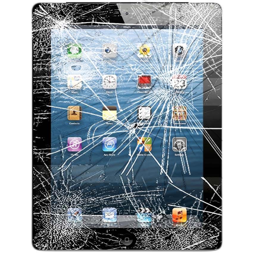 Reparation Vitre D Ecran Et Ecran Tactile Ipad 4 Noir