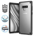 Coque Hybride Samsung Galaxy Note9 Ringke Fusion - Grise / Claire