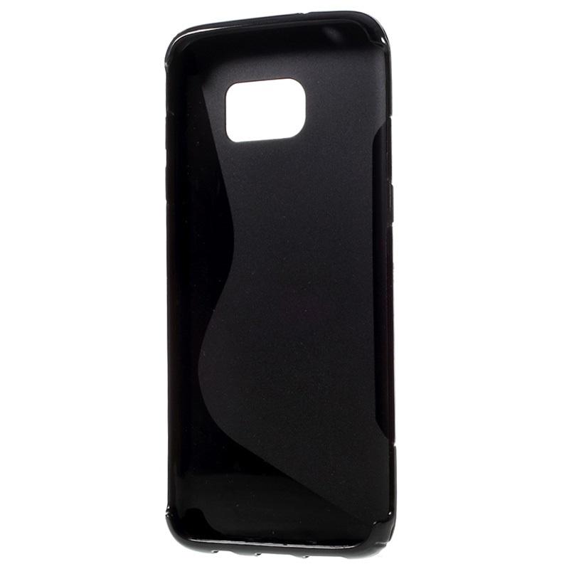 coque samsung s7 edge silicone noir