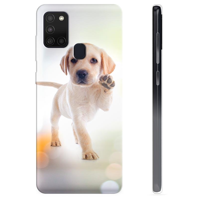 Coque Samsung Galaxy A21s en TPU - Chien