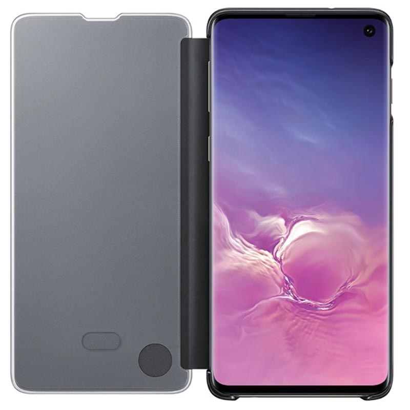 coque clear view samsung s10 plus