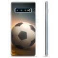 Coque Samsung Galaxy S10+ en TPU - Football