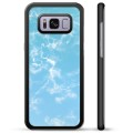 Coque de Protection Samsung Galaxy S8 - Marbre Bleu