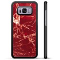 Coque de Protection Samsung Galaxy S8 - Marbre Rouge