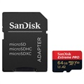 Carte Mémoire MicroSDXC SanDisk Extreme Pro UHS-I SDSQXCY-064G-GN6MA