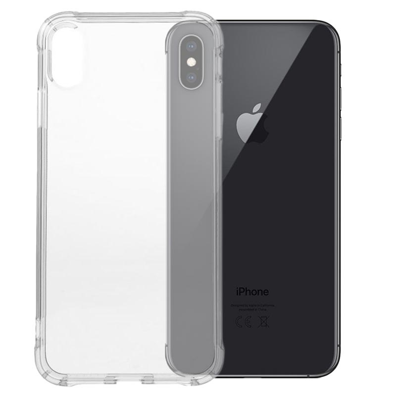 coque iphone xs max antichoc transparente