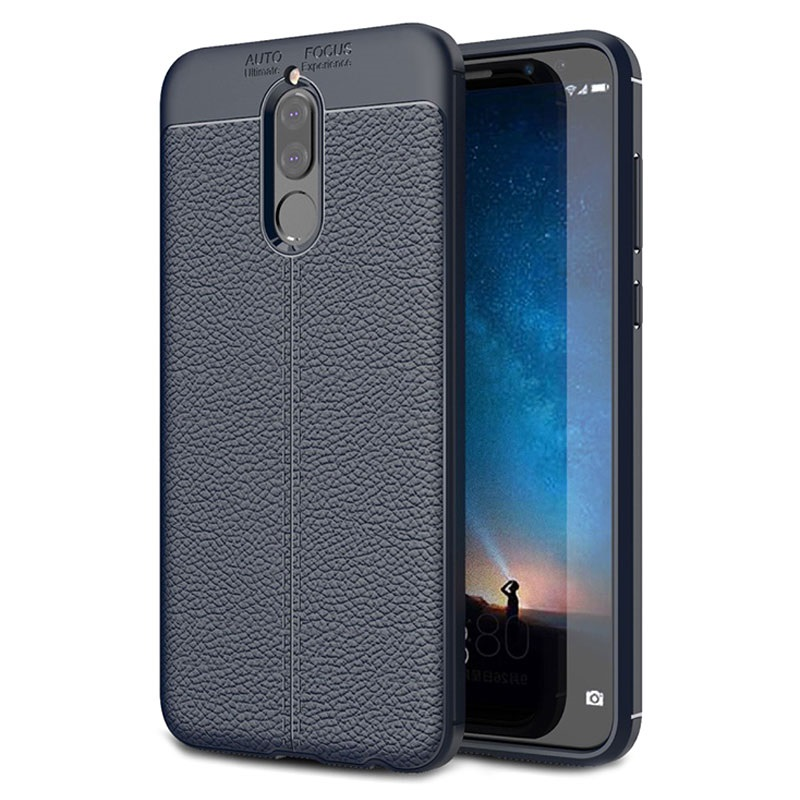 coque en tpu slim fit premium pour huawei mate 10 lite bleu fonc. Black Bedroom Furniture Sets. Home Design Ideas