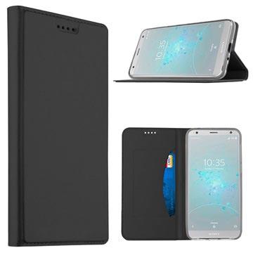 tui à clapet Noir Sony Xperia XZ2 PKQb9AH5Ol