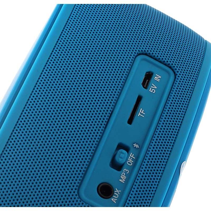 enceinte bluetooth 3d nfc multicanal smart music 1 1 bleue. Black Bedroom Furniture Sets. Home Design Ideas