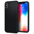Coque Spigen Liquid Air Armor pour iPhone X - Noir