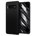Coque Samsung Galaxy S10 TPU Spigen Liquid Air - Noir