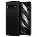Coque Samsung Galaxy S10+ TPU Spigen Liquid Air - Noir