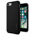 iPhone 7 / iPhone 8 Spigen Liquid Armor TPU Case - Black