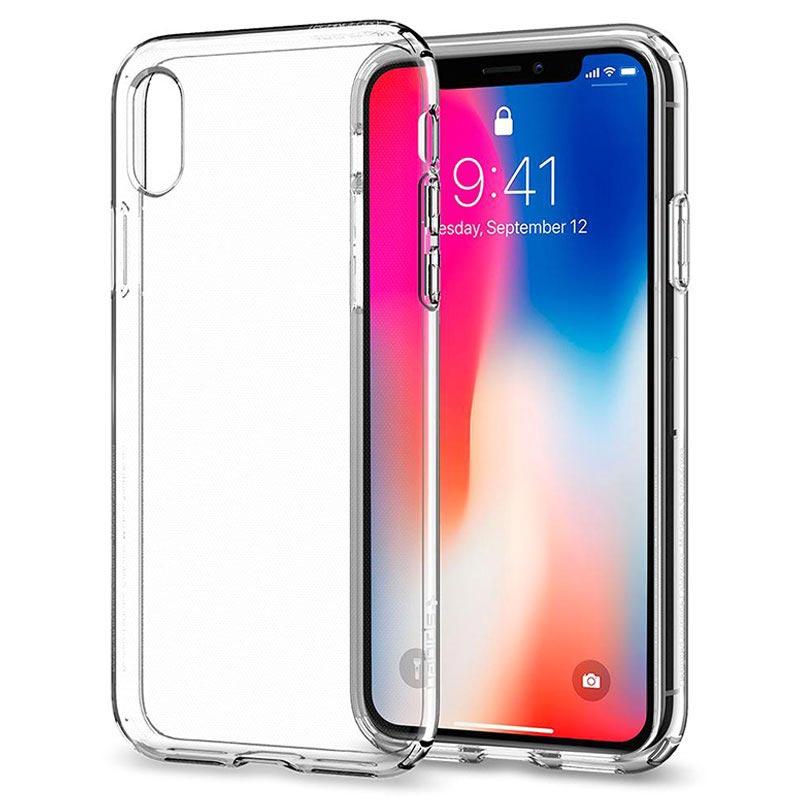 coque iphone x antichoc 360 transparent