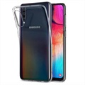 Coque Samsung Galaxy A50 en TPU Spigen Liquid Crystal - Transparent
