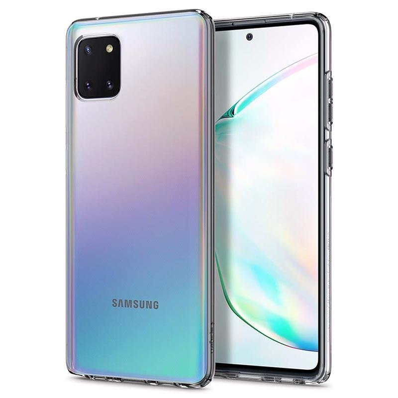 Coque Samsung Galaxy Note10 Lite en TPU Spigen Liquid Crystal - Transparente