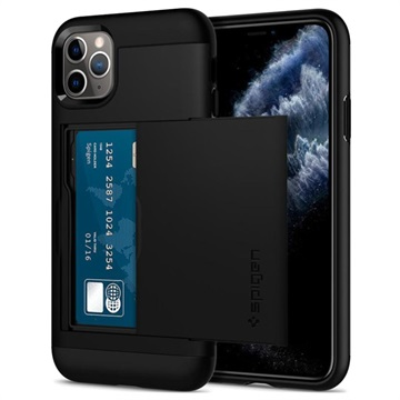Coque iPhone 11 Pro Spigen Slim Armor CS - Noire