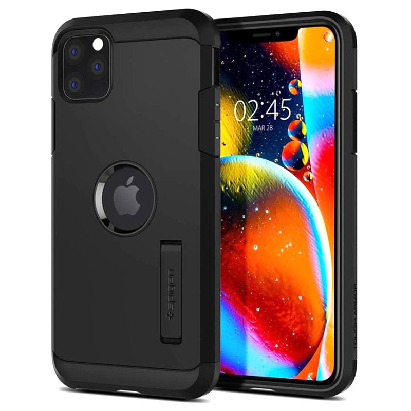 Spigen Tough Armor Case for iPhone 11 Pro Max Black 8809640259869 17092019 01 p
