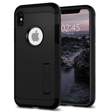coque iphone x noir mate