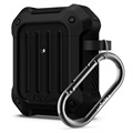 Spigen Tough Armor Apple Airpods / Airpods 2 Silicone Case - Black