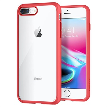 coque iphone 7 plus rouge spigen
