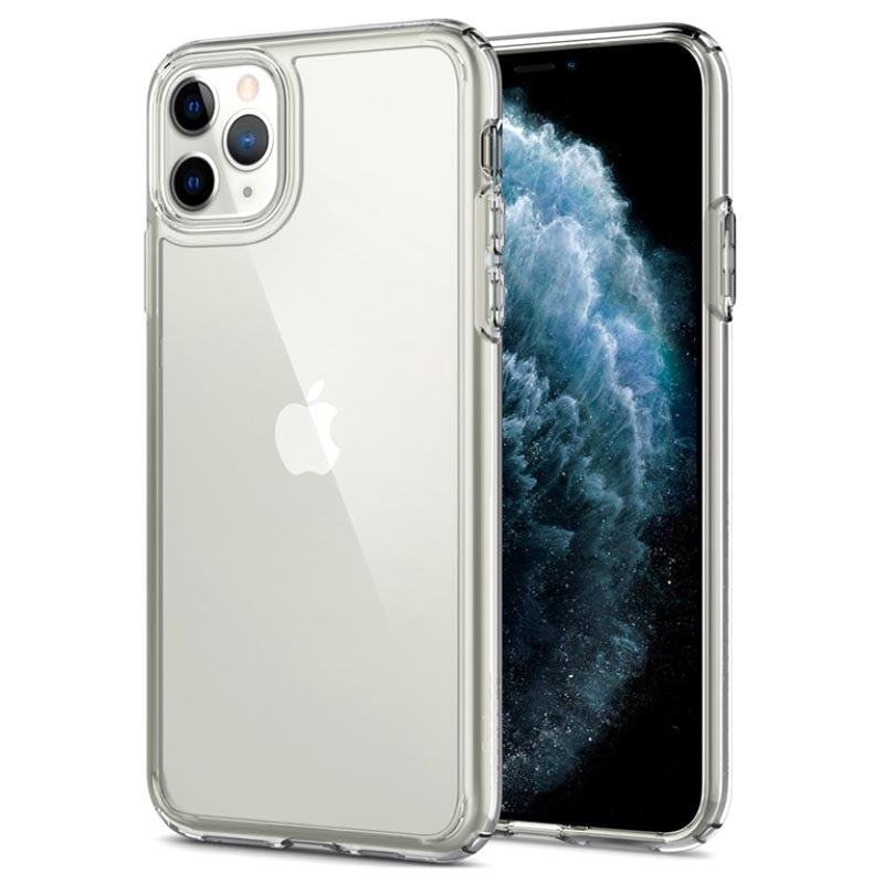 Spigen Ultra Hybrid Case for iPhone 11 Pro Max Crystal Clear 8809640259791 13092019 01 p