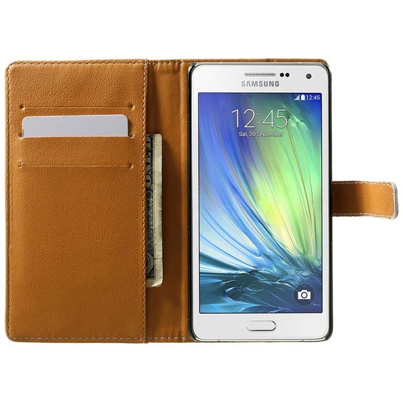 Etui Portefeuille Elegant Pour Samsung Galaxy A5 2015